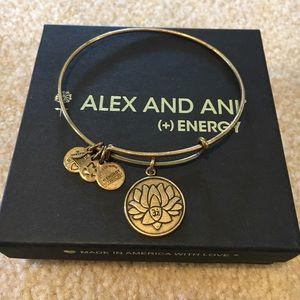 Alex & Ani Lotus Bracelet